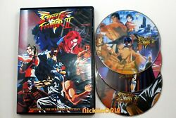 Opened Box Street Fighter 2 V Complete Tv 29 Episodes Anime Dvd English