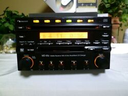 Nakamichi Md-95z Mobile Receiver Sound System Md 6disc Musicbank Cd Changer Rare