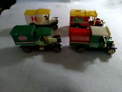 Classic Trucks Lot Of 4 Toys Vintage Collectable-new