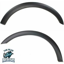 New Fender Flares Moulding Trim Wheel Opening Molding Set Of 2 Front F-150 Pair