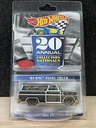 Hot Wheels 20th Collectors Nationals '64 Gmc Panel Truck Low 490/4000 Protecto