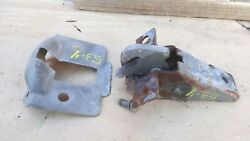 1953 1954 Chevy Trunk Lid Lock / Latch Release / Cover Original Gm Pontiac Olds