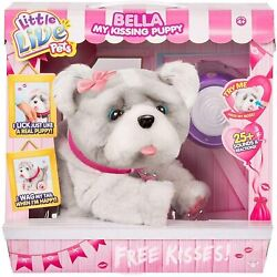 Little Live Pets Bella My Kissing Puppy New Rare Hard To Find Interactive Dog