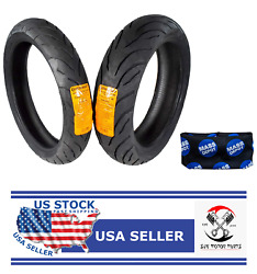 Continental Conti Motion Tires 120/70-17 170/60-17 With Keychain - A1