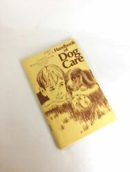 Purina Vintage Dog Care Booklet With Advertising Circa 1971. Fascinating Histori