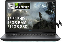 2021 Flagship Dell G5 15 Gaming Laptop 15.6 Fhd Display 10th Gen 6-core I7-107