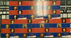 Genuine Lot Of 7 2007, 2008, And 2009 Presidential 1 Coin Uncirculated Sets