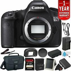 Canon Eos 5ds R Digital Slr Camera Body Only- Bundle +32gb Memory Card + Spare