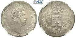 Italy Lucca Charles Louis Of Bourbon 2 Lire 1837 Ngc Ms66 Rare Grade
