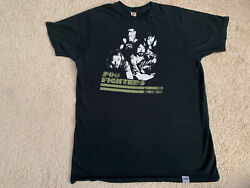 Foo Fighters Echoes Silence Patience Grace 2008 Us Tour T-shirt Large Vintage