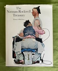 Signed 1st Edition 1979 The Norman Rockwell Treasury By Thomas S. Buechner
