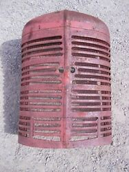 Farmall M Mv Ih Tractor Nice Orig Front Nose Cone Grill W/ Screen And Insert Panel