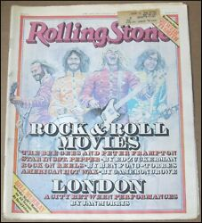 4/20/1978 Rolling Stone Magazine Rock And Roll Movies Bee Gees Bill Murray Clapton