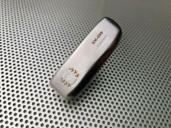 Miura Golf Putter Km-008 Smoked With Gold White Paint Fill