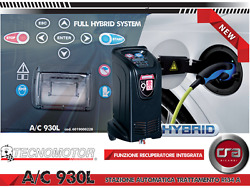 Station Pour Charge Air Climatisation R134 Tecnomotor Ac / 930l Made En Italie