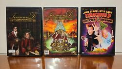 Tenacious D Complete Dvd Collection Rare Do You Know What Iand039m Saying To You