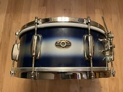 50's Chicago Era Silver And Blue Duco Slingerland Student Radio King Snare Nice