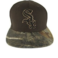 59 New Era Chicago White Sox Brown Camo Baseball Fitted 7 1/4