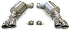 Corsa 14556 3 Stainless Sport Exhaust System Kit Axle-back 05-10 Bmw M5 E60