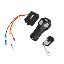 Dc 12v Wireless Winch Remote Controller Receiver Fob For Jeep Atv Warn Ramsey