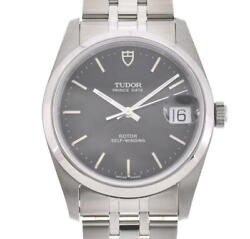 Tudor Date 74000 Black Dial Automatic Menand039s Watch O104425