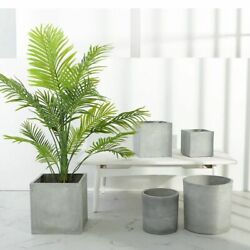 Large Home Silicone Planter Mold Succulent Cement Making Flowerpot Craft Mould