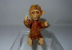 Super Rare Schuco Monkey Perfume Gay Paree, 5 Inches In Height