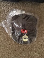 New Era San Diego Padres Size 7 1/8 5950 Fitted On Field Mlb Cap Se 2015 Brown