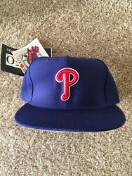 New Era Philly Phillies Size 7 1/4 5950 Fitted Grey Bottom Diamond Collection