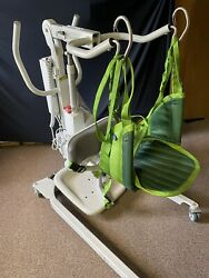 Liko Sabina Ii 2 Ee Standing Rising Sit To Stand Patient Resident Lift + Sling