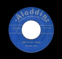 Rare Early Classic Doowop-five Keys-deep In My Heart/how Do You Expect Me To Get