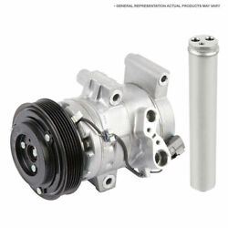 For Ford Escort And Mercury Tracer Oem Ac Compressor W/ A/c Clutch And Drier Gap