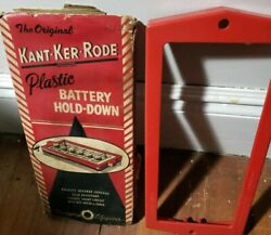 Nos 1956 Mercury 12v Kant-ker-rode Accessory Battery Hold-down Fd3 New Free Ship
