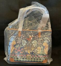 Disney Dooney And Bourke Fantasia Sorcerer Mickey 80th Tote New W Tags