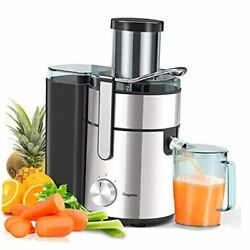 Juicer 3.34 Juicer Machines 1000w Wide Mouth Juicers Extractor For Silver