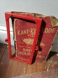 Nos 1954 1955 Ford Lincoln Mercury Kant-ker-rode Accessory Battery Hold-down Fd2