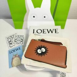 Sold Out Loewe Totoro Collaboration Ming-10-00 Coin Card Holder Dust Bunny