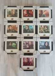 Game Of Thrones Framed Stamp Prints Complete Collection 10 By Royal Mail Uk