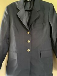 Air Force Coat Jacket Womenand039s Dress Blue 12mr Us Military 1620 Poly/wool Serge