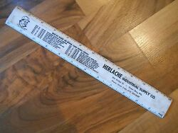 Old Vintage 1965 Green Bay Packers Lombardi Schedule Ruler Herlache Super Bowl