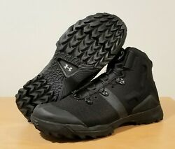 Under Armour Infil Tactical Boa Boots Shoes, 1287350-001 Size 10.5