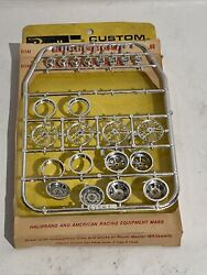 Revell Custom Car Parts C1141 Competition Wheels And Mags Oop Some Parts Gone