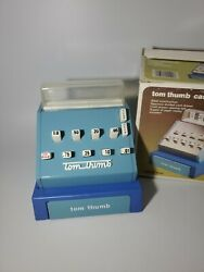 Vintage Tom Thumb Metal And Tin Cash Register Toy Model 1550 6x 6 New Open Box