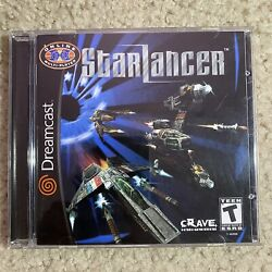 Authentic Starlancer Sega Dreamcast 2000 Complete Cib Tested Working