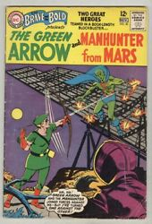 Brave And The Bold 50 October 1963 G/vg Team-ups Begins Green Arrow