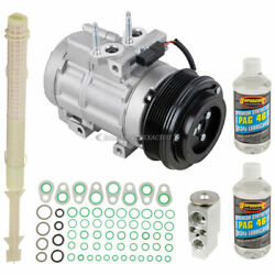 For Ford Expediton And Lincoln Navigator Oem Ac Compressor W/ A/c Repair Kit Gap