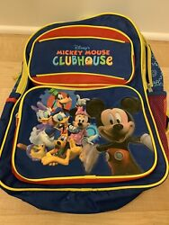 Childrenand039s Kids Disney School Micky Mouse Clubhouse Backpack Goofy Donald Duck