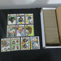 1979 Topps Football Complete Set Earl Campbell Rookie Read