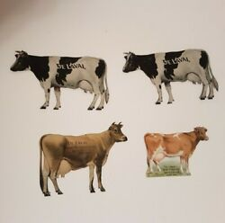De Laval Tin Cow Cream Separator Advertising Jersey And Holstein Cows