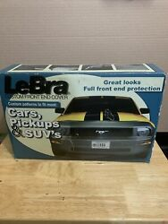 Lebra Custom Black Front End Cover Fit Most Cars, Pickups Andsuv's